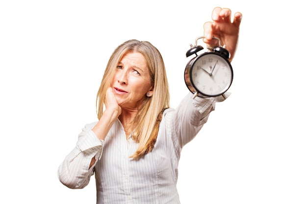 Bejaarden elegant deadline dame fun