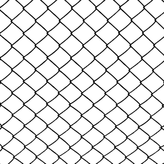 Bekabeld hek