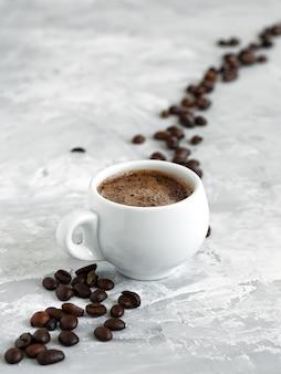 Beker met espresso