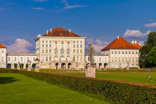 Bekijk in nymphenburg palace in münchen, duitsland