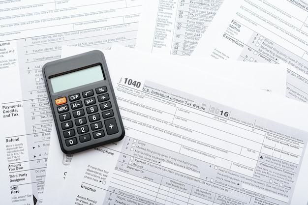 Belastingaangifteformulier