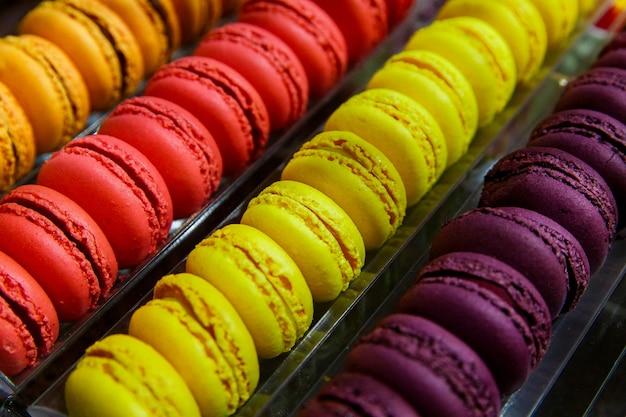 Belgische chocolade in een traditionele chocolaterie in brugge brugge belgië