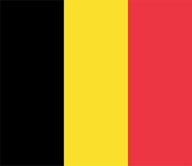 Belgische vlag van belgië