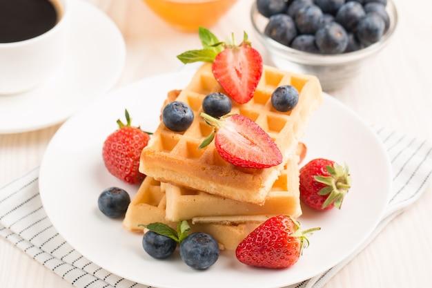Belgische wafels als ontbijt