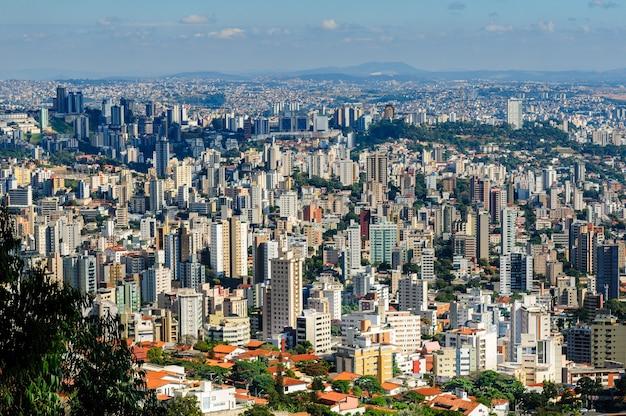 Belo horizonte minas gerais brazilië algemeen beeld van de stad