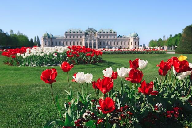 Belvedere palace wenen oostenrijk