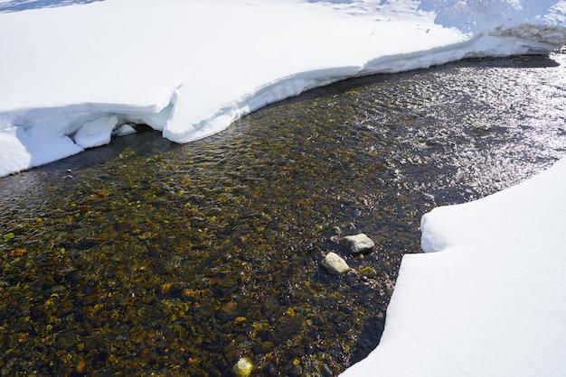 Benasque posets maladeta stroom pyreneeën spanje