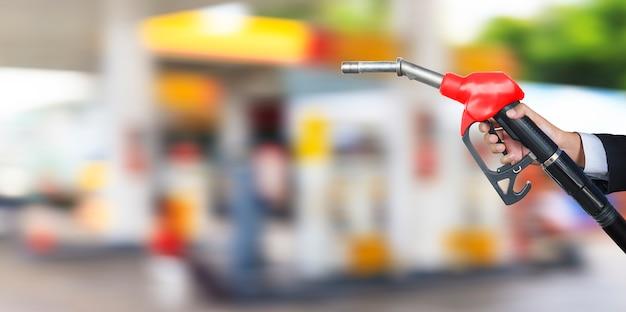Benzine brandstof pijp