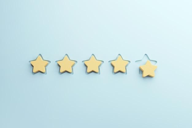 Beoordeling met sterren