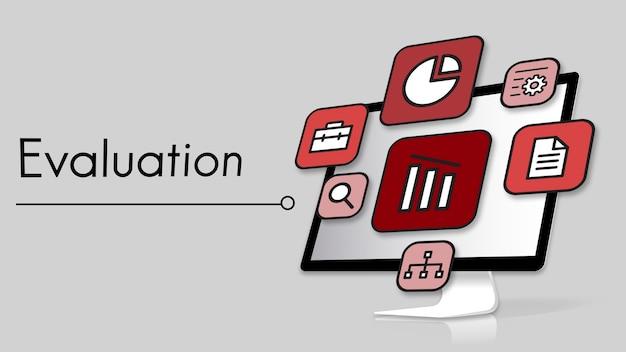 Beoordeling strategie evaluatie pictogrammen prioriteren