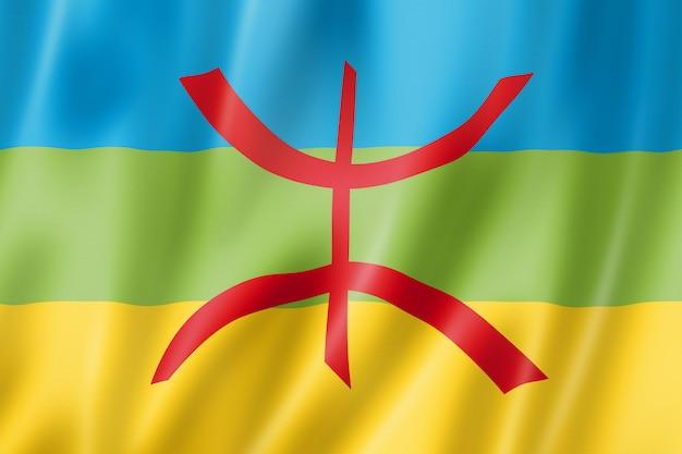 Berber etnische vlag, afrika