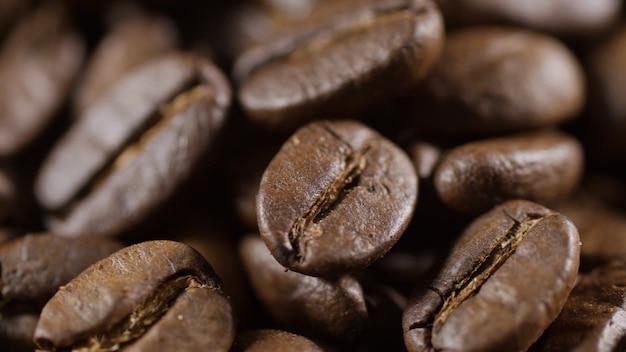 Bereiding van koffiesequentie close-up