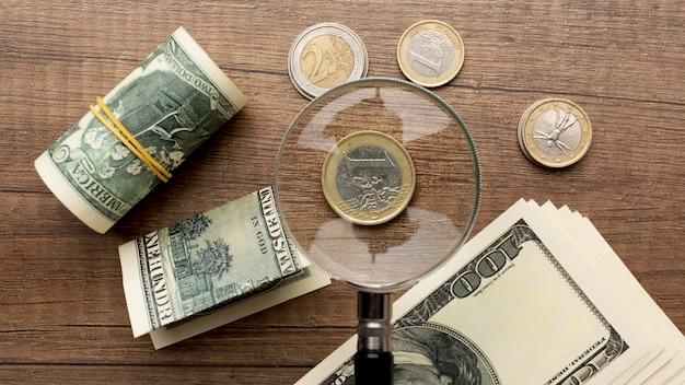 Bereken het vergrootglas voor maandelijkse betalingen