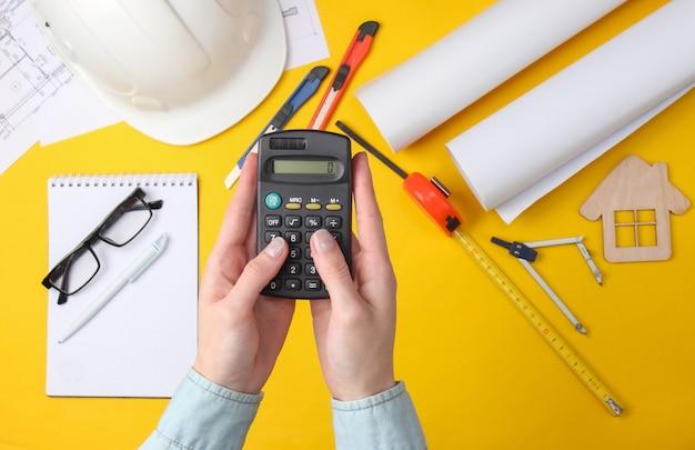 Berekening van de kosten van huisvesting