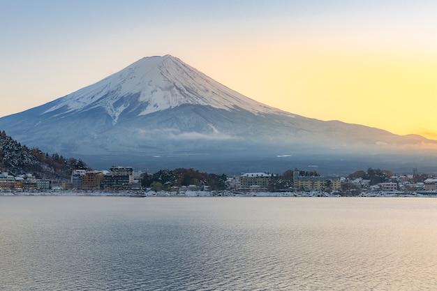 Berg fuji kawaguchiko