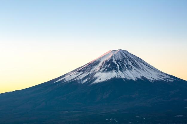 Berg fuji zonsopgang japan