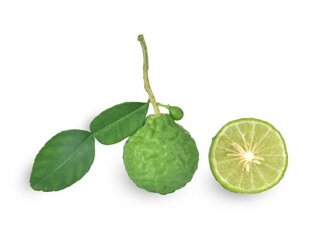 Bergamotfruit geïsoleerd
