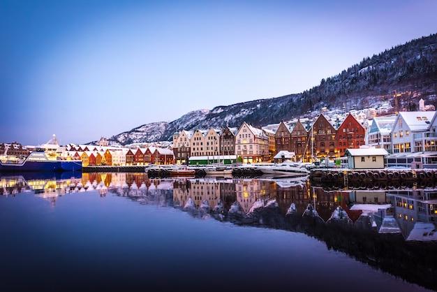 Bergen met kerstmis