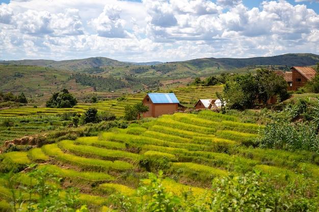 Bergendorp in madagaskar