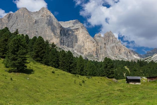 Berghut in gardeccia