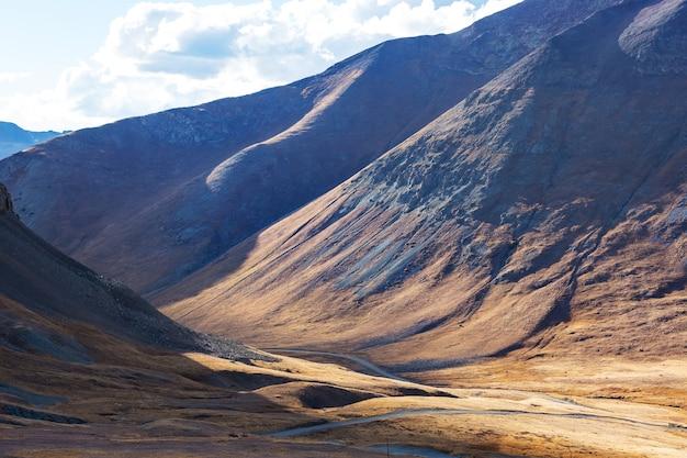 Berglandschap in colorado rocky mountains, colorado, verenigde staten.