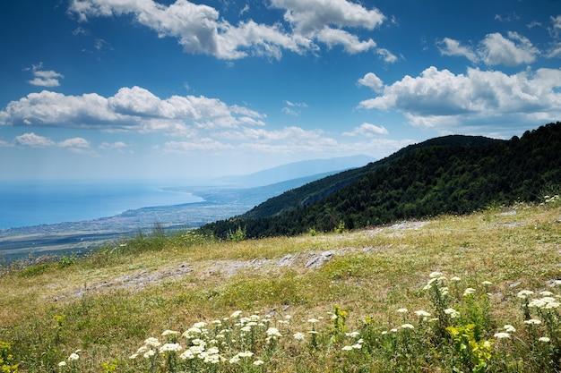 Berglandschap in griekenland