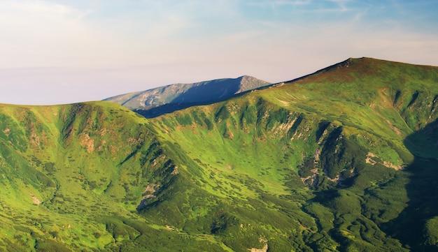 Berglandschap.