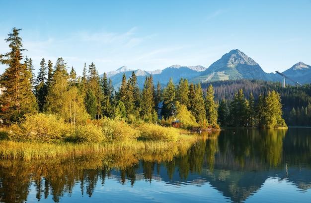 Bergmeer in hoge tatra