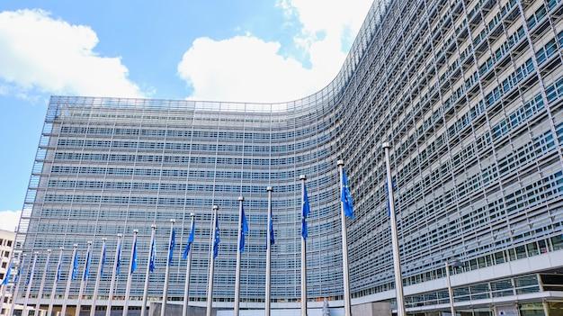Berlaymont gebouw van de europese commissie