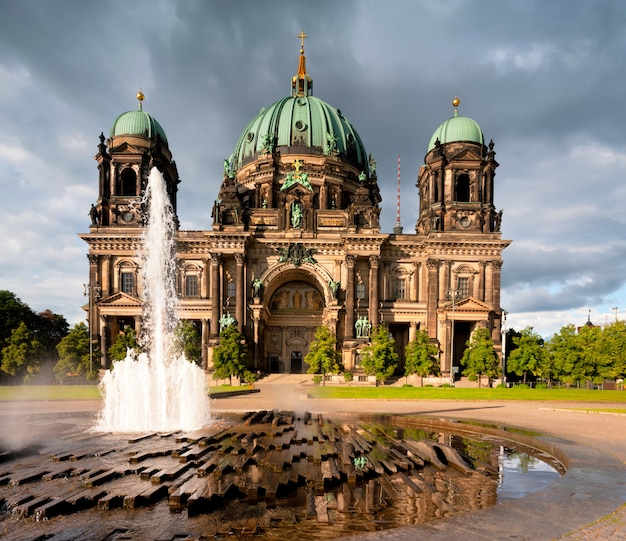 Berlin cathedral of berliner dom
