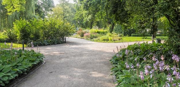 Bernardine gardens park in het centrum van vilnius