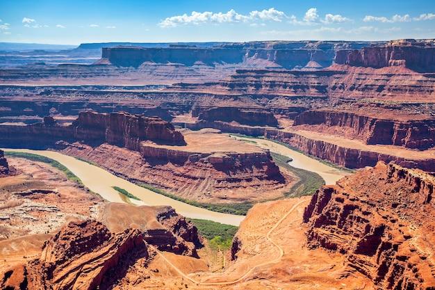 Beroemd dead horse point state park, vs.