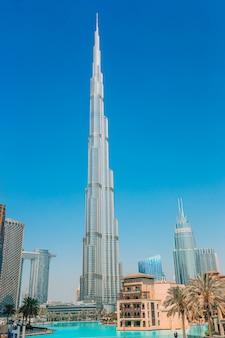 Beroemde bezienswaardigheid in dubai, verenigde arabische emiraten
