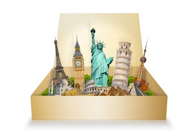 Beroemde monumenten van de wereld