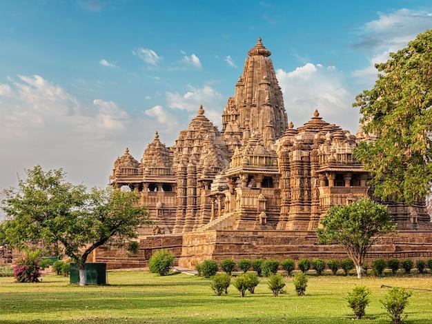 Beroemde tempels van khajuraho
