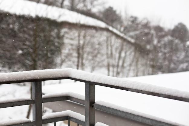 Besneeuwde winter