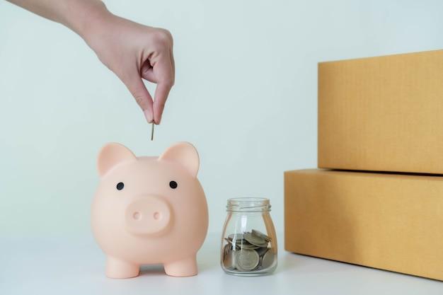 Bespaar geld voor toekomstige investeringen en voor noodgevallen