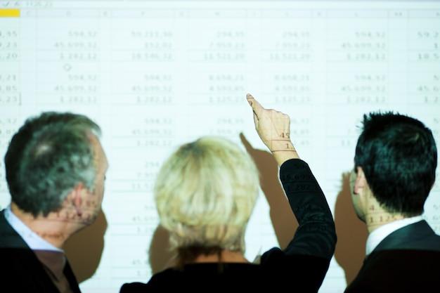 Bespreking van de spreadsheet