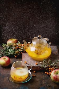 Bessen duindoorn thee