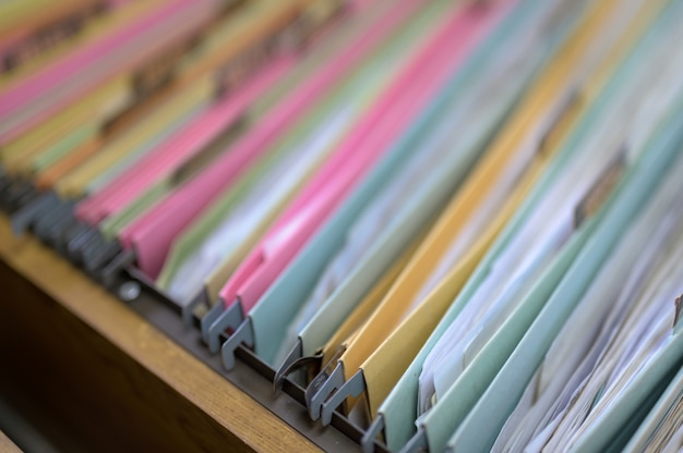 Bestand in de archiefkast