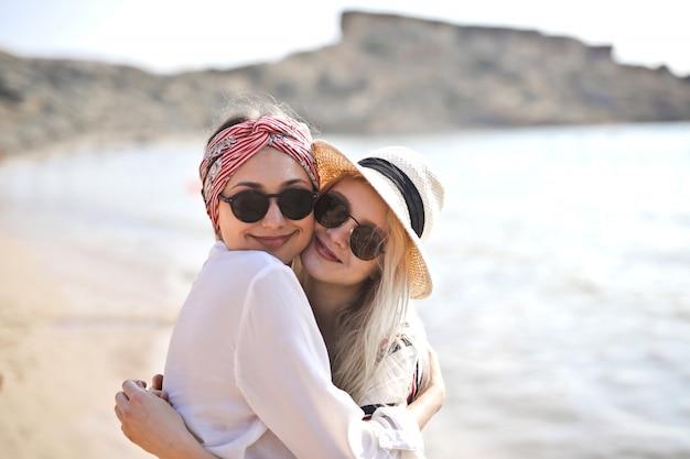 Beste vrienden op vakantie