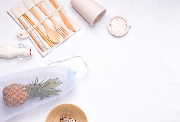 Bestek gemaakt van bamboe