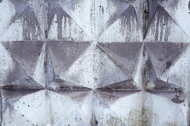 Bestrating betonplaten close-up als achtergrond