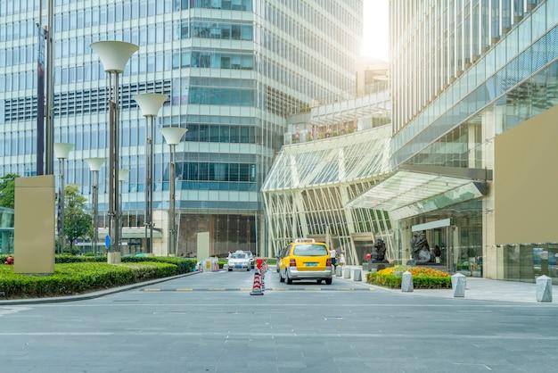 Bestrating stedelijke reis dramatische stad cement