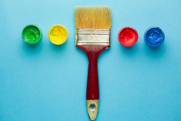 Bestrijk ze met colorul acryl