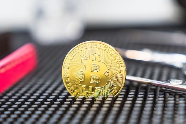 Betaling voor cryptocurrency-services