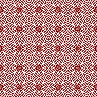 Betegeld aquarel patroon. kastanjebruine symmetrische caleidoscoopachtergrond. handgeschilderde betegelde aquarel naadloos. textiel klaar grappige print, badmode stof, behang, inwikkeling.