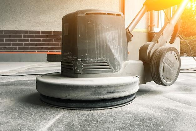 Betonvloer slijpmachine, betonvloer reparatie