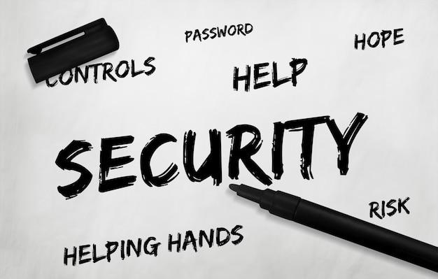 Beveiliging veiligheidsklep beschermpictogram