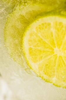 Bevroren citroenplak